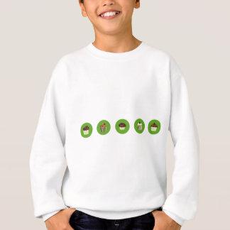 ChocoBrownCupAll2 Sweatshirt
