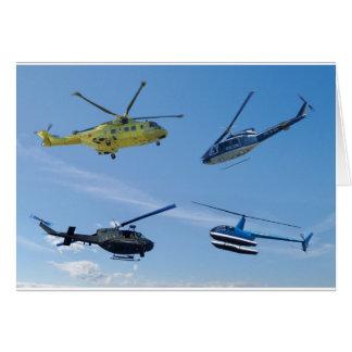 Chopper 4 grußkarte