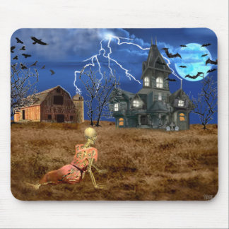 Christinas Halloween-Welt Mousepad