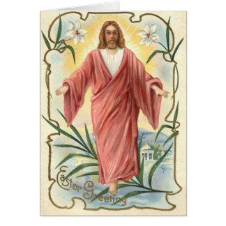 Christliche Christentums-Lilie Jesuss Christus Karte