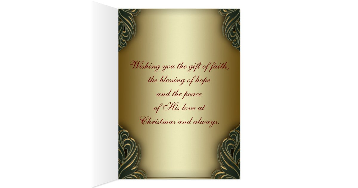 Christliche weihnachtskarten gru karte zazzle - Christliche weihnachtskarten ...