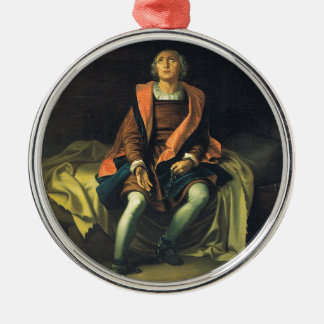 Christoph Kolumbus Farbe durch Antonio De Herrera Silbernes Ornament