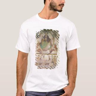 Christus in der Majestät mit vier evangelischen T-Shirt