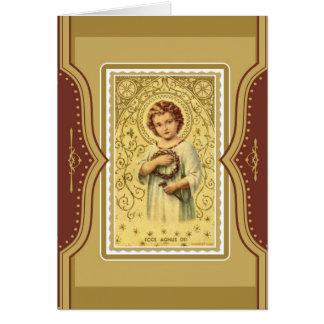 Christus-Kinderjesus-Massen-anbietendenkmal Karte
