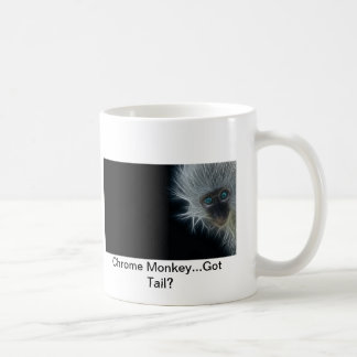 Chrom-Affe-Keramik 15 Unze-Kaffee-Tasse Tasse
