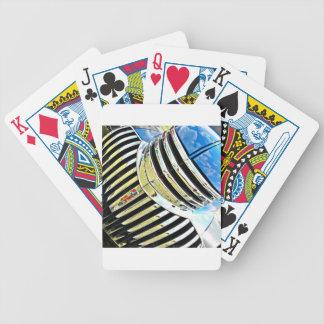 Chrom auf dem Chevy Pokerkarten