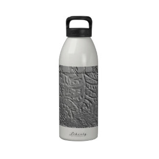 Chrom-Blätter Wasserflasche