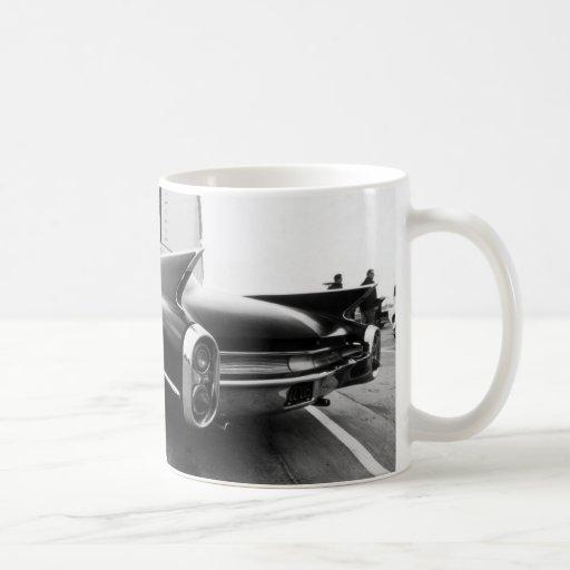 Chrom Cadillac-Flossen-N Kaffeehaferl