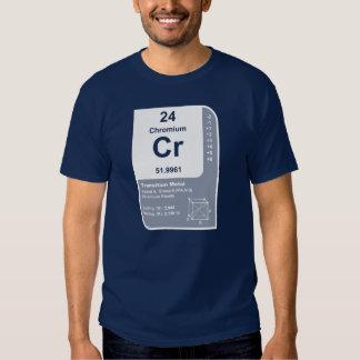 Chrom (Cr) T-shirts