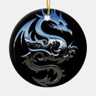 Chrom-Drache-Verzierung Keramik Ornament