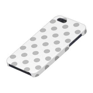Chrom-graue Tupfen-Kreise Schutzhülle Fürs iPhone 5