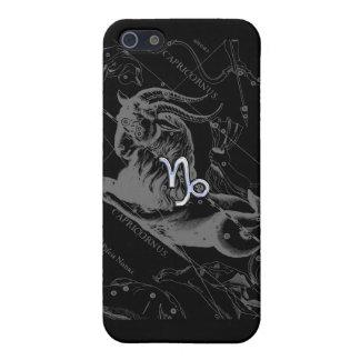 Chrom mag Steinbock-Tierkreis-Zeichen auf Hevelius Hülle Fürs iPhone 5