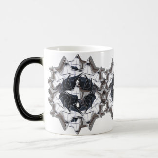 Chrom-Stern Kaffee Tasse