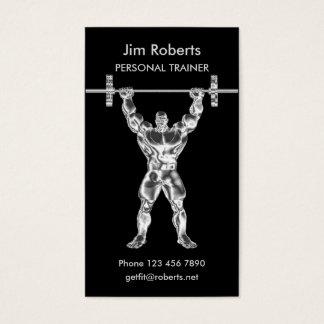 Chromweightlifter-persönlicher Trainer Visitenkarten