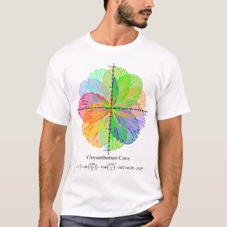 Chrysantheme-Gleichungs-Shirt der Männer T-Shirt