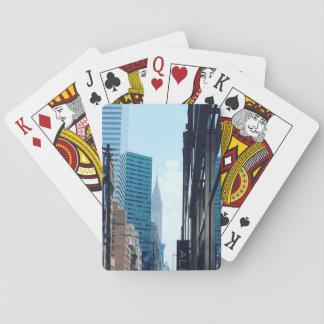 Chrysler-Gebäude-Karten Spielkarten