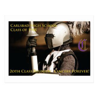 CHS Klasse von Wiedersehen-Postkarte 1988! Postkarte