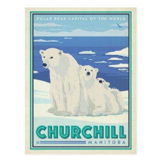 Churchill, Manitoba Postkarte