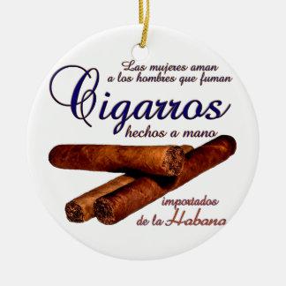 Cigarros - Cirars Keramik Ornament