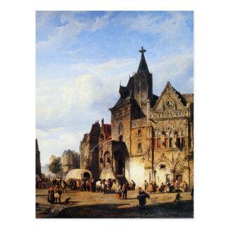Cityview durch Cornelis-Springer Postkarte