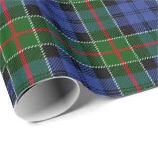 Clan Colquhoun Tartan-kariertes Muster Geschenkpapierrolle
