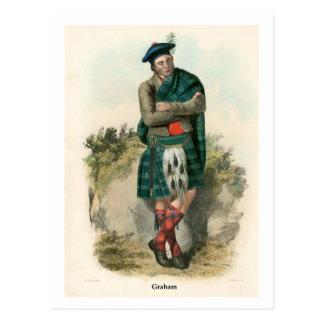 Clan Graham Postkarte