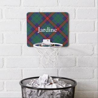Clan Jardine Tartan fertigen Namen besonders an Mini Basketball Ringe