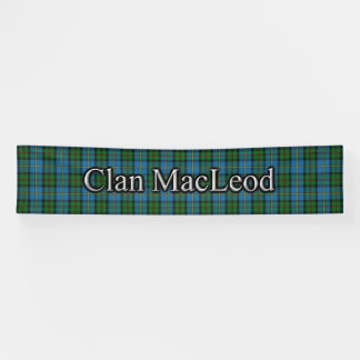 Clan MacLeod des HarrisTartanscottish-Festivals Banner
