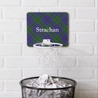 Clan Strachan Tartan fertigen Namen besonders an Mini Basketball Netz