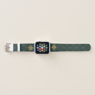 ClanAllisonTartan u. schottische Distel Apple Watch Armband