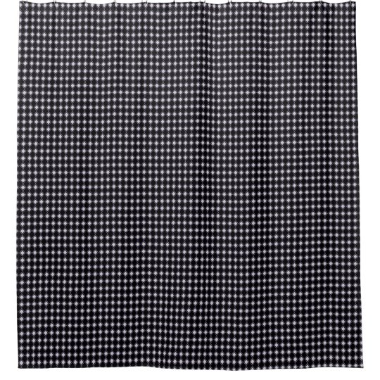 Classic-Style-Tiny-Diamonds_Black-Bath-Decor Duschvorhang