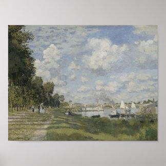 Claude Monet - Bassin d'Argenteuil Poster