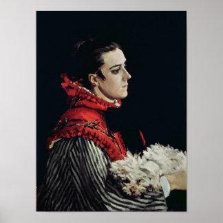 Claude Monet | Camille Monet Poster