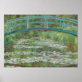 Claude Monet | der japanische Steg, 1899 Poster