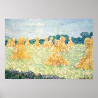 Claude Monet - die jungen Damen von Giverny Poster