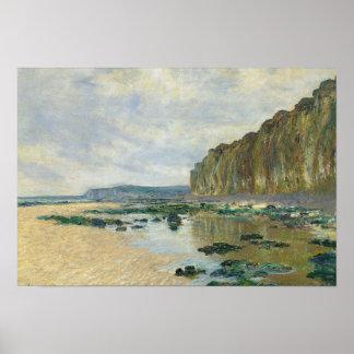 Claude Monet - Ebbe bei Varengeville Poster