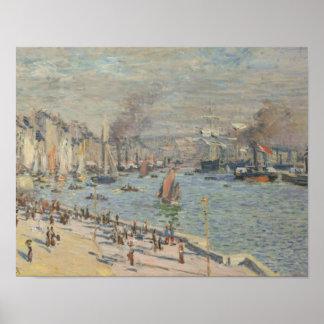 Claude Monet - Hafen von Le Havre Poster