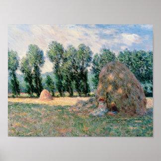 Claude Monet - Heuschober Poster