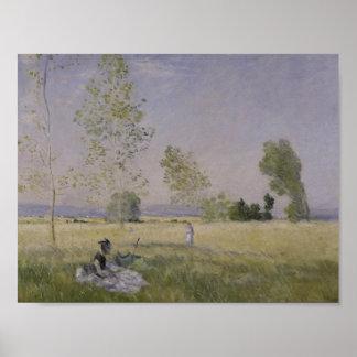 Claude Monet - Sommer Poster