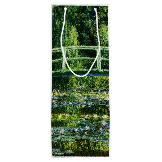 Claude Monet-Wasser-Lilie Teich Geschenktüte Für Weinflaschen