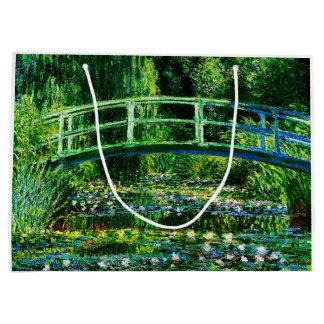 Claude Monet-Wasser-Lilie Teich Große Geschenktüte