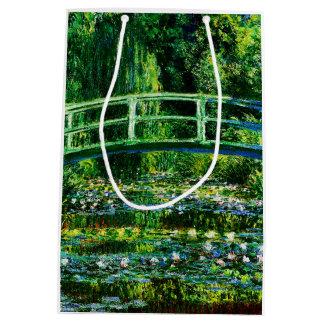 Claude Monet-Wasser-Lilie Teich Mittlere Geschenktüte