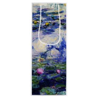 Claude Monet-Wasser-Lilien Geschenktüte Für Weinflaschen