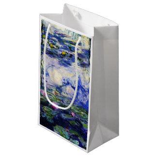 Claude Monet-Wasser-Lilien Kleine Geschenktüte
