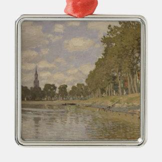 Claude Monet | Zaandam 1871 Silbernes Ornament
