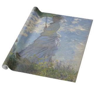 Claude Monets Frau mit einem Sonnenschirm Geschenkpapier
