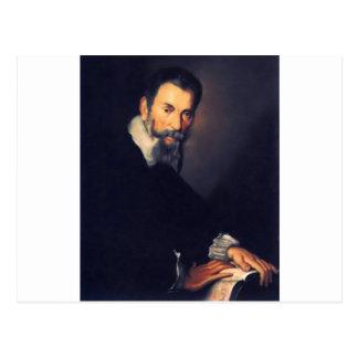 Claudio monteverde postkarte