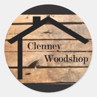Clenney Woodshop Aufkleber