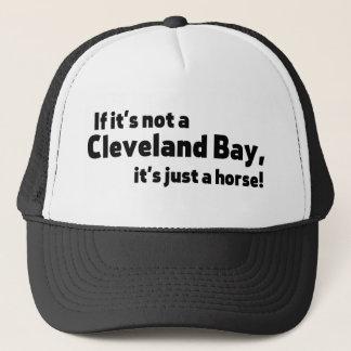 Cleveland-Buchtpferd Truckerkappe