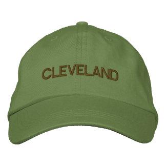 Cleveland-Kappe Bestickte Baseballkappe